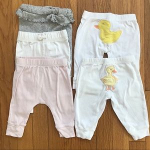 Bundle of Five Baby Pants